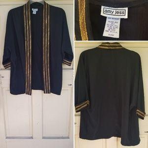 Vintage open front cardigan